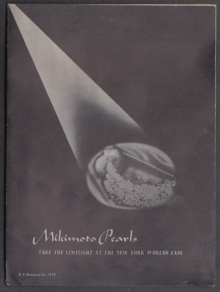 Image for Mikimoto Pearls Take the Limelight at New York World's Fair 1939 folder