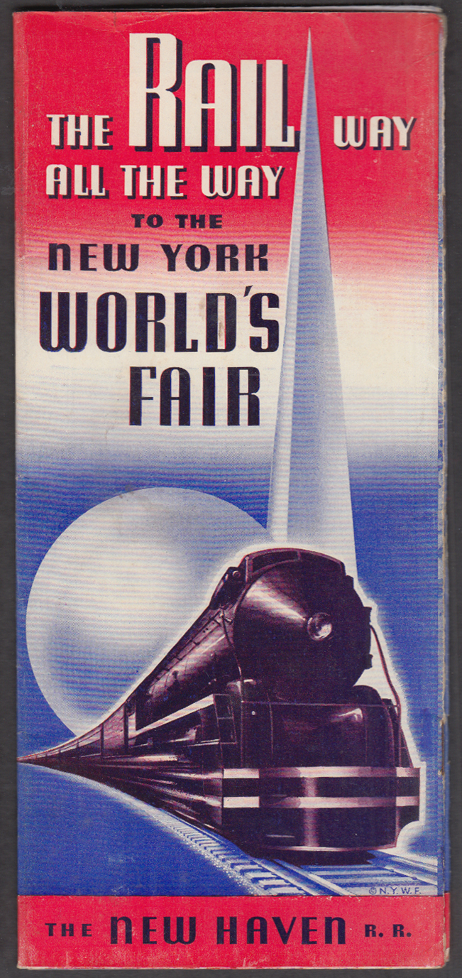 Image for New York New Haven & Hartford RR The Rail Way to the World's Fair 1939