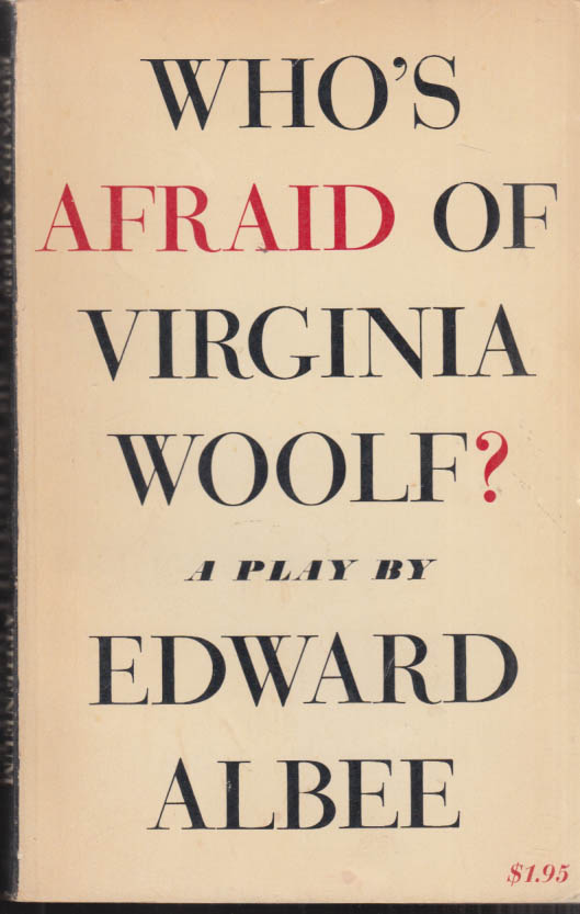 Image for SIGNED Edward Albee: Who's Afraid of Virginia Woolf? 1st ed