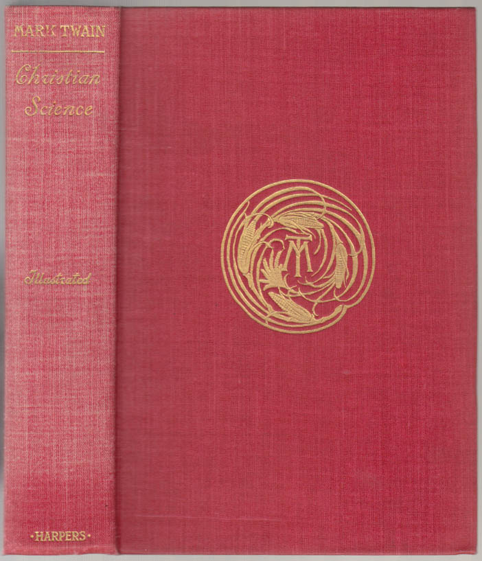 Image for Mark Twain: Christian Science 1907 1st edition, mixed issue