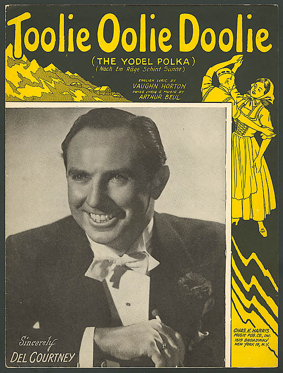 Image for Toolie Oolie Doolie Yodel Polka sheet music 1948