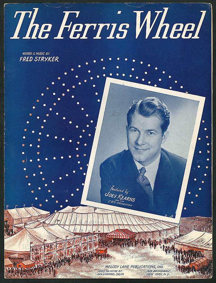Image for The Ferris Wheel Joey Kearns sheet music 1942