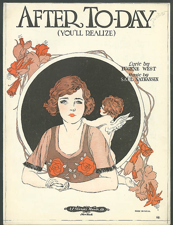Image for After To-Day You'll Realize sheet music 1922