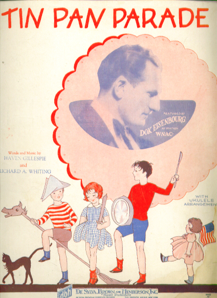 Image for Tin Pan Parade 1927 sheet music