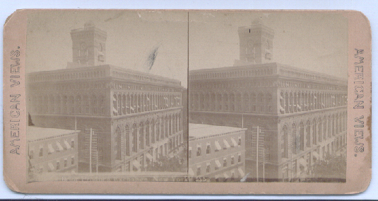 Image for 1890's Stereoview New York Produce Exchange