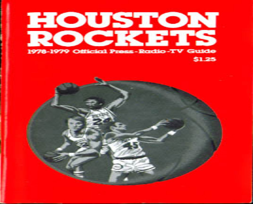Image for 1978-79 Houston Rockets Press Guide