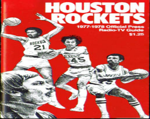 Image for 1977-78 Houston Rockets Media Guide