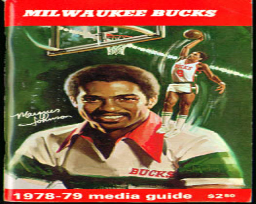 Image for 1978-1979 Milwaukee Bucks Media Guide NBA Basketball