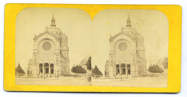 Image for St. Augustus Church stereoview 187?