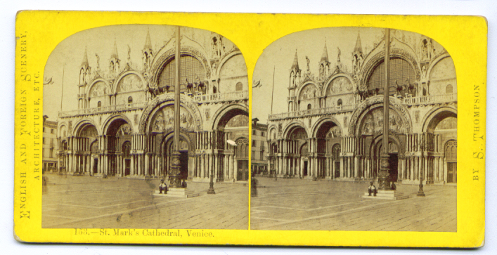 Image for St. Mark's Venice stereoview 187?
