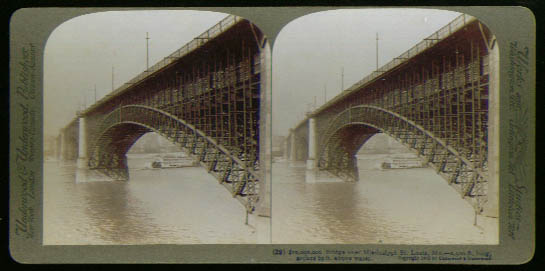 Image for $10 million Bridge St Louis stereoview 1903