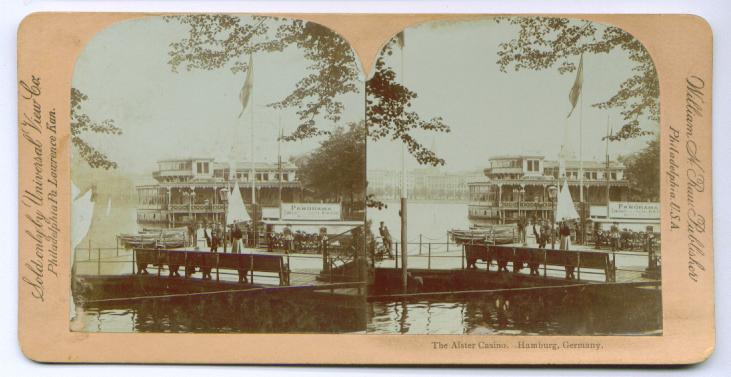 Image for Alster Casino Hamburg Germany stereoview 189?