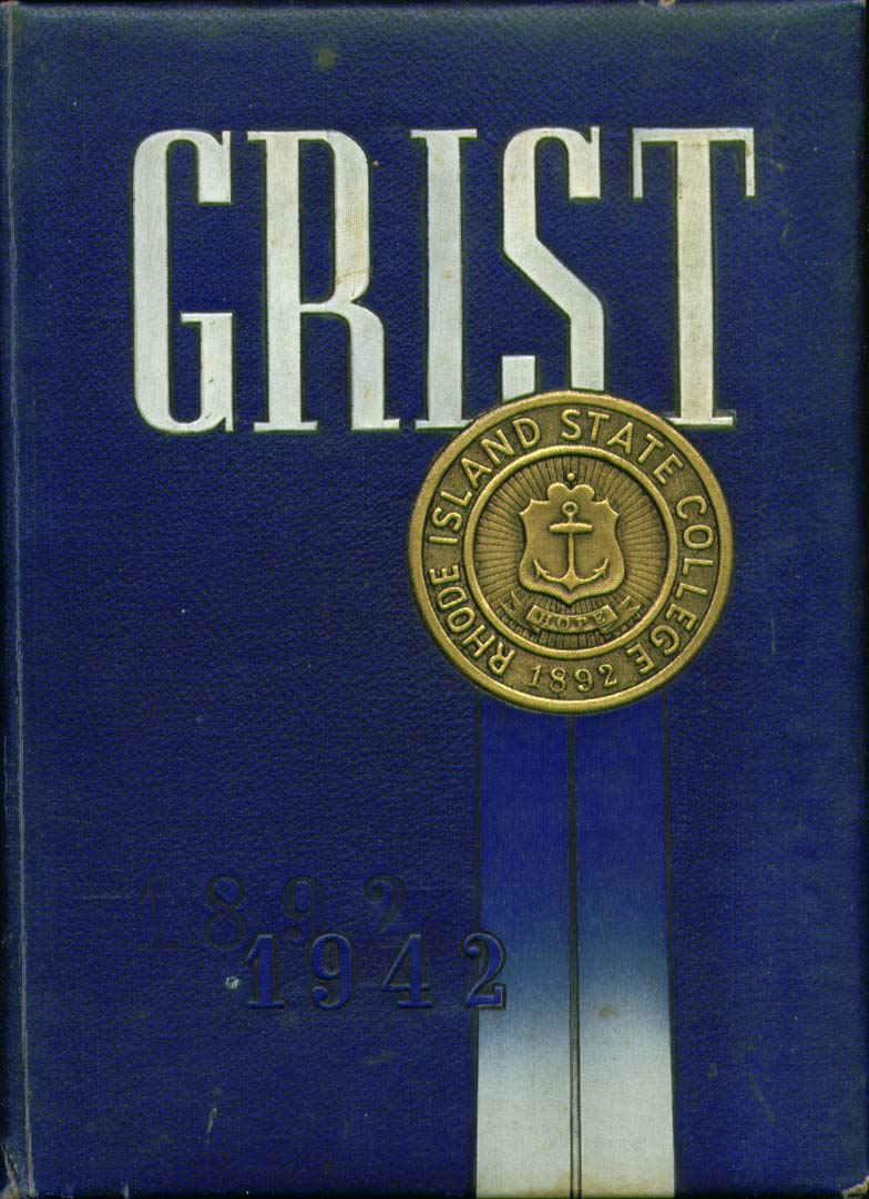 Image for Grist Rhode Island State College Providence Rhode Island 1942 Yearbook