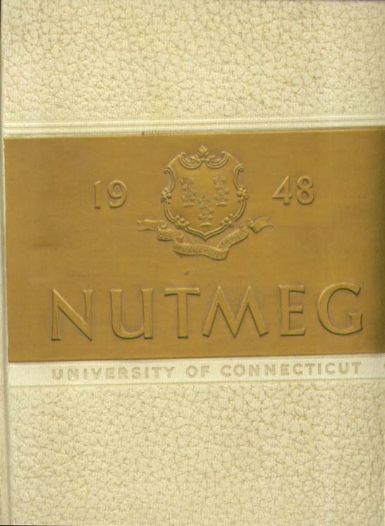 Image for Nutmeg University of Connecticut Storrs Connecticut 1948 Yearbook