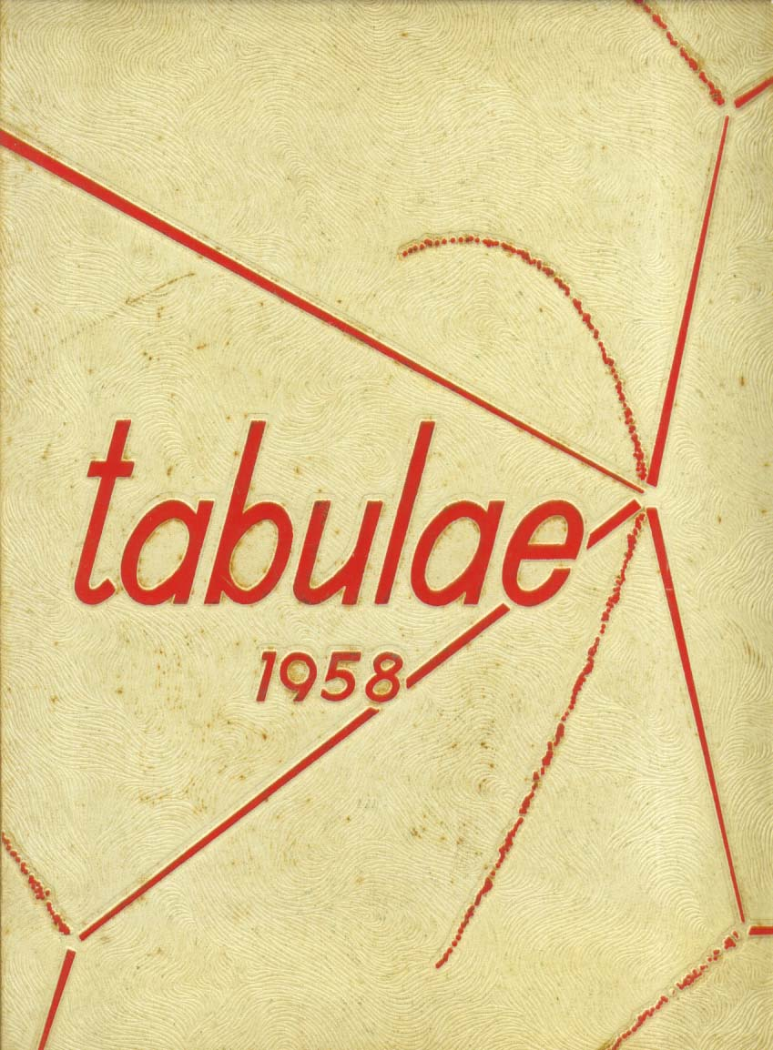 Image for Tabulae Lyons Township High School LaGrange & Western Springs IL 1958 Yearbook