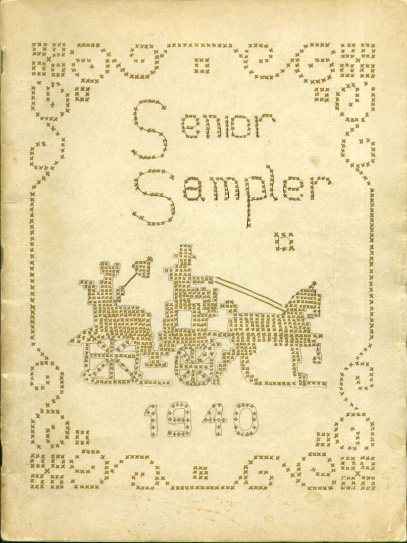 Image for Senior Sampler BellowsFalls High School Bellows Fallls Vermont 1940 Yearbook