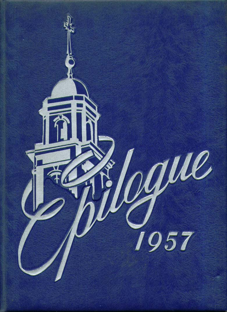 Image for Epilogue Saint Joseph College West Hartford Connecticut 1957 Yearbook