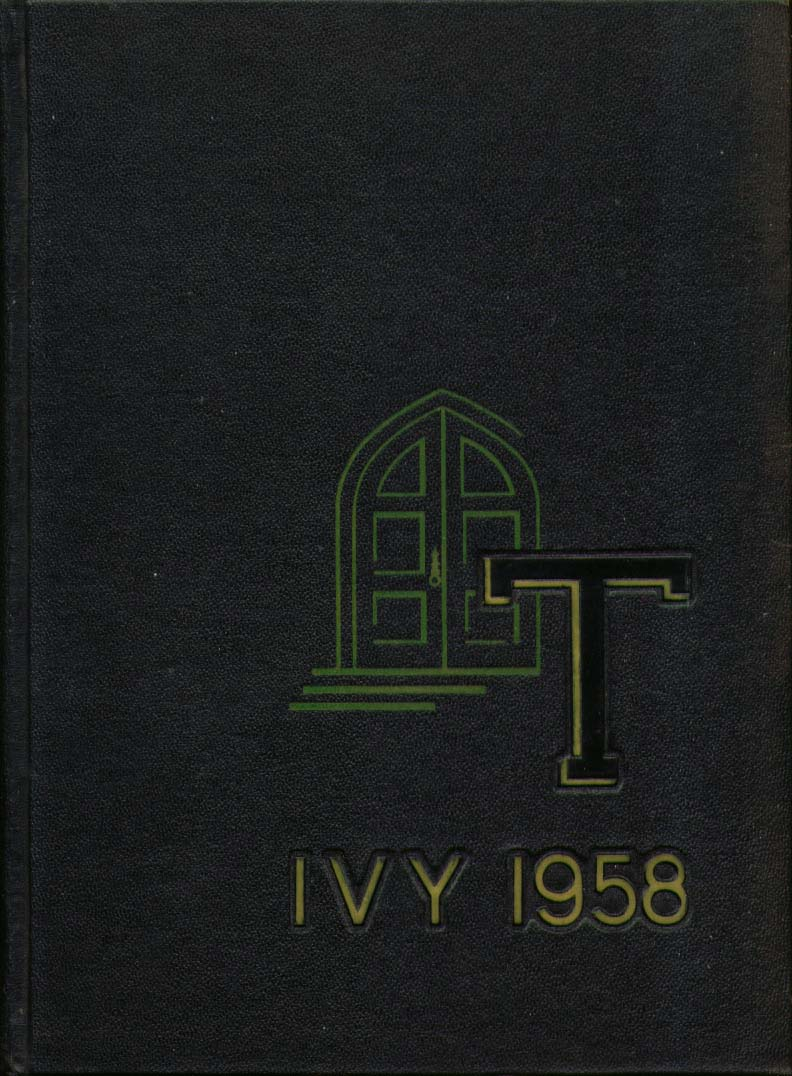 Image for Ivy Trinity College Hartford Connecticut 1958 Yearbook
