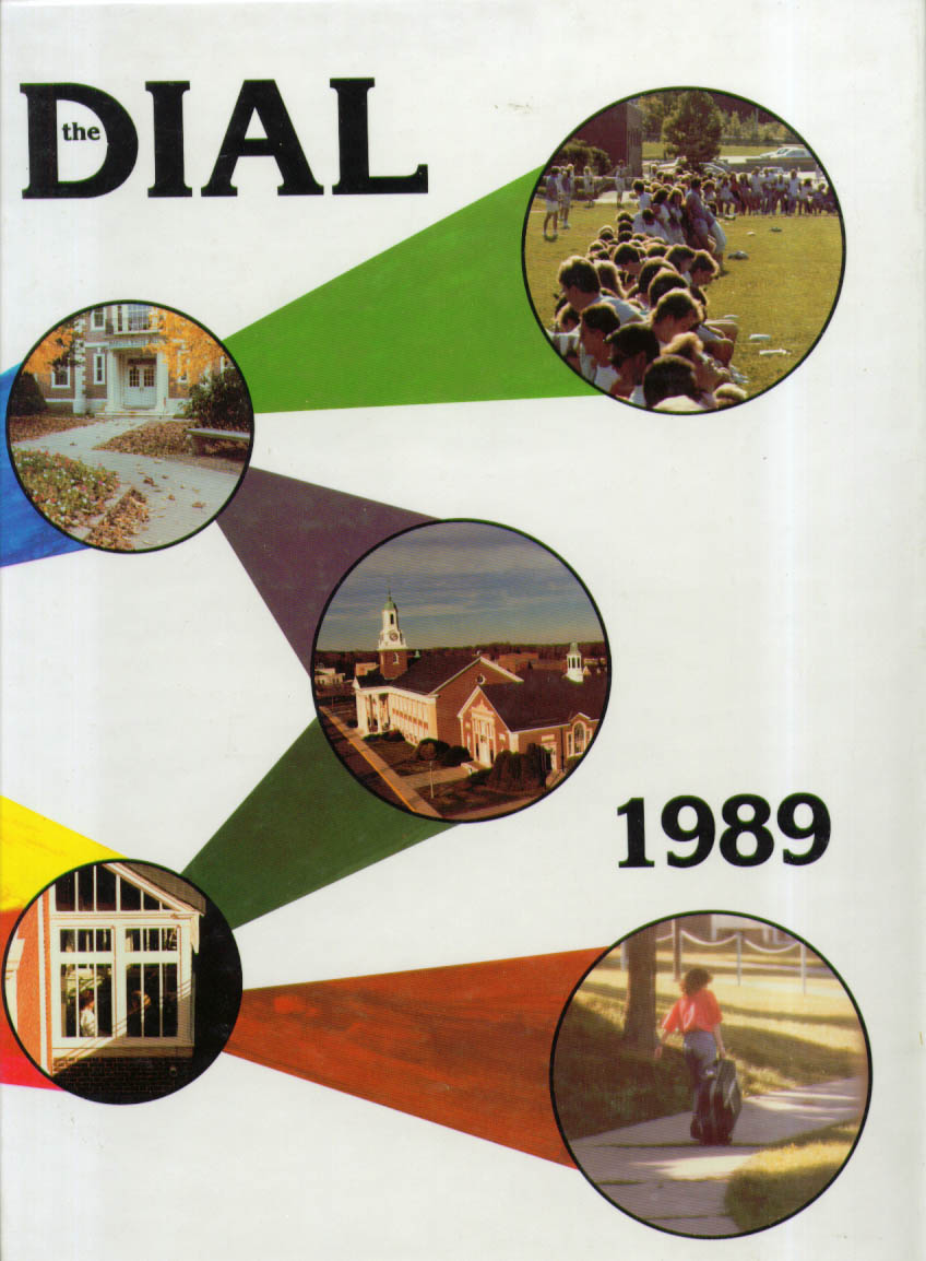 Image for Dial Central Connecticut State University New Britain CT 1989 Yearbook