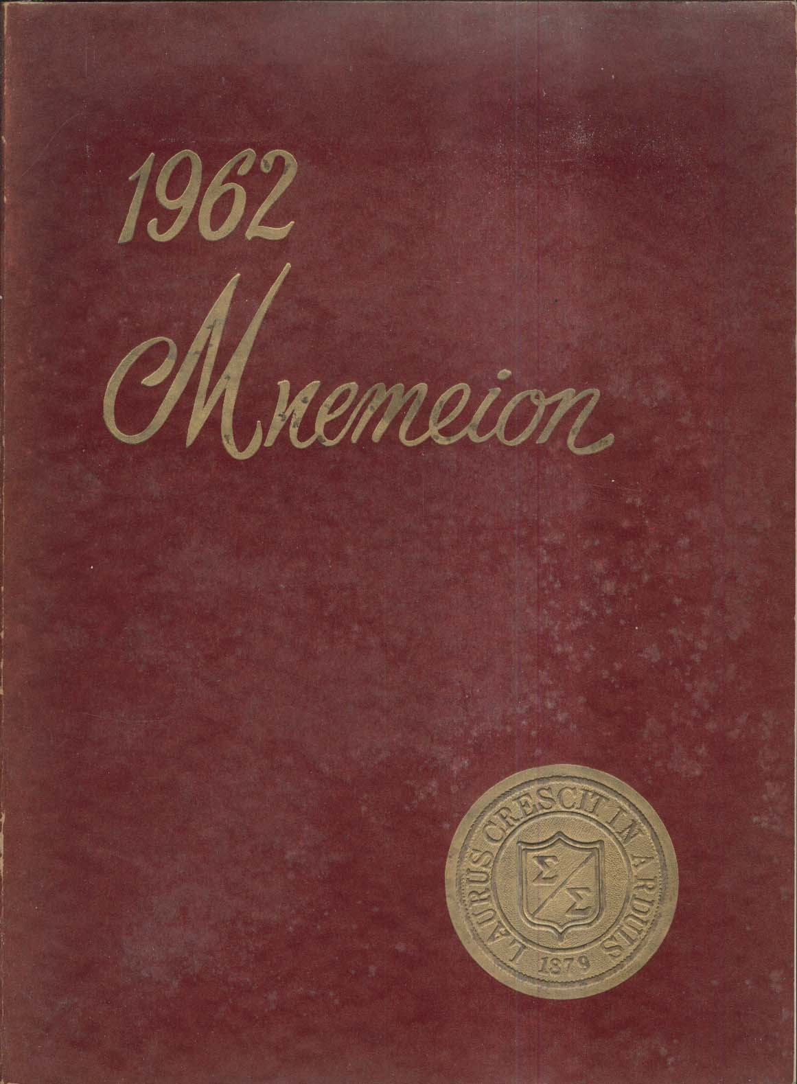 Image for 1962 Mnemeion Springside School Chestnut Hill Philadelphia Pennsylvania Yearbook