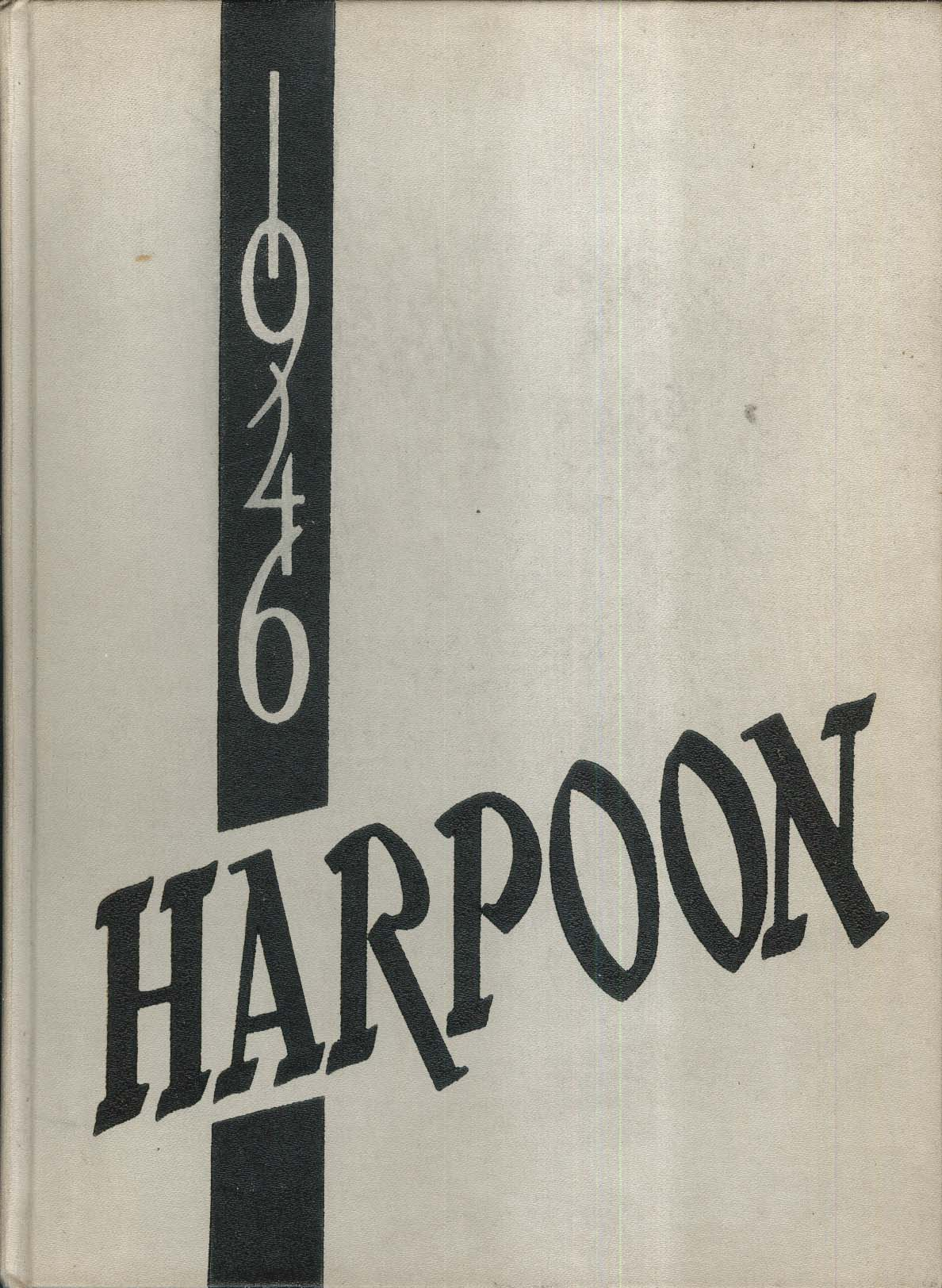 Image for 1946 Harpoon Harlan High School Harlan Iowa IA Yearbook