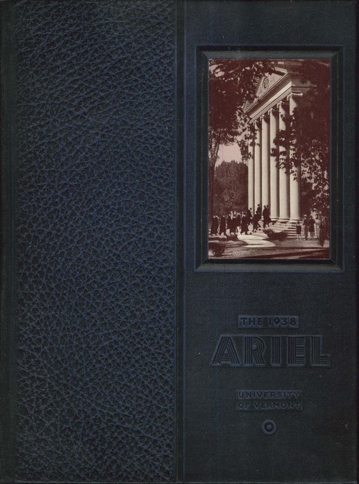 Image for 1938 Ariel University of Vermont Burlington VT Yearbook