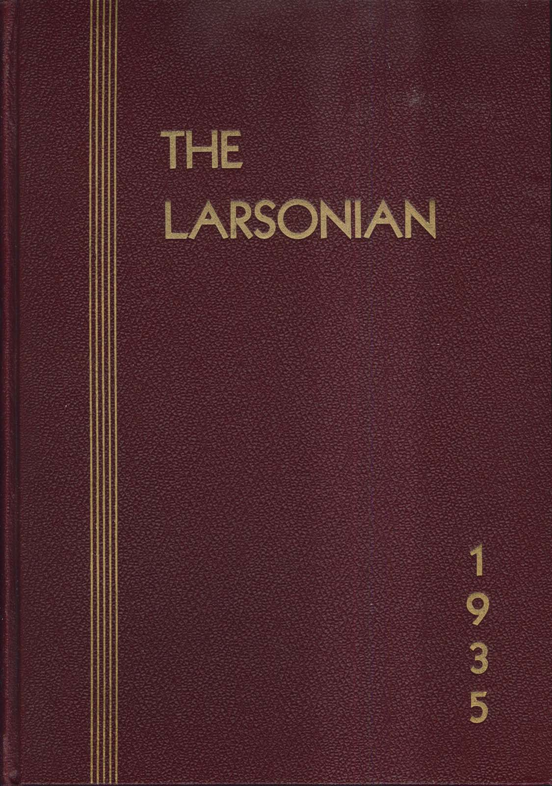 Image for The Larsonian Larson Junior College New Haven Connecticut CT 1935 Yearbook