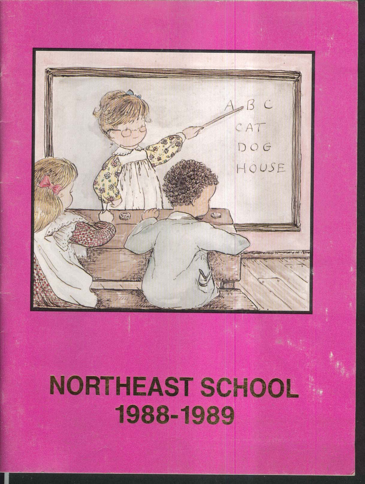 Image for Northeast School Vernon Connecticut CT 1988-1989 Yearbook