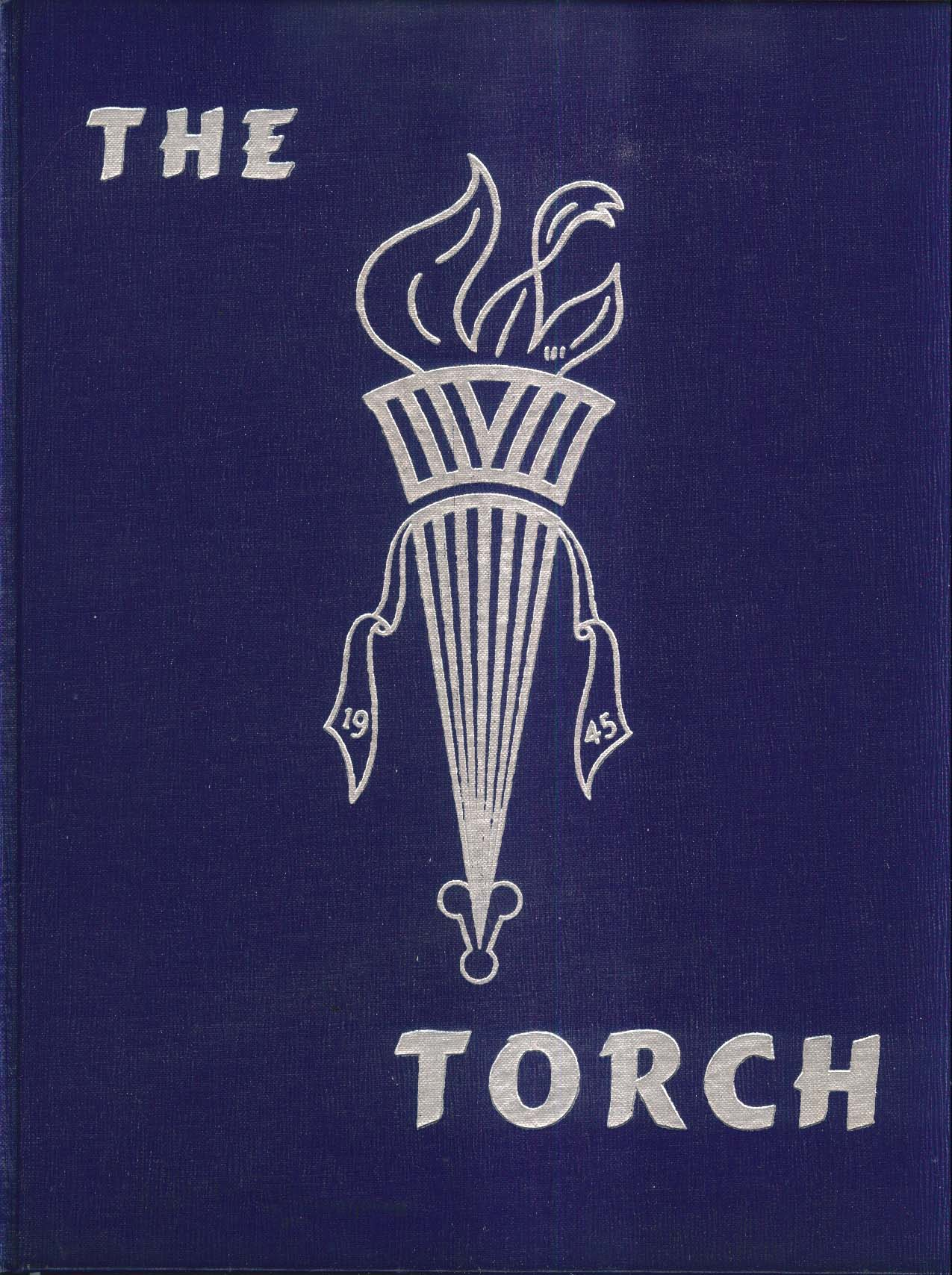 Image for The Torch Stafford High School Stafford Springs Connecticut 1945 Yearbook