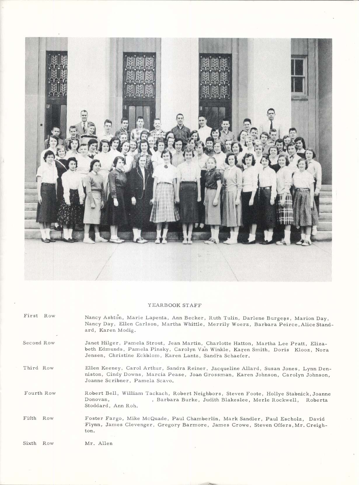 Image for Sedgwick Shadows 1957 Sedgwick Junior High School West Hartford CT Yearbook