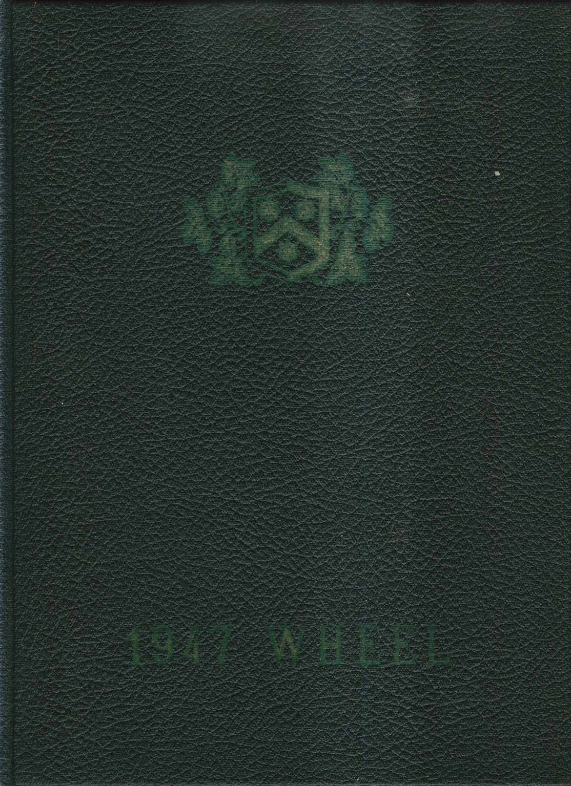 Image for 1947 Wheel Wheelock College Boston Massachusetts MA Yearbook