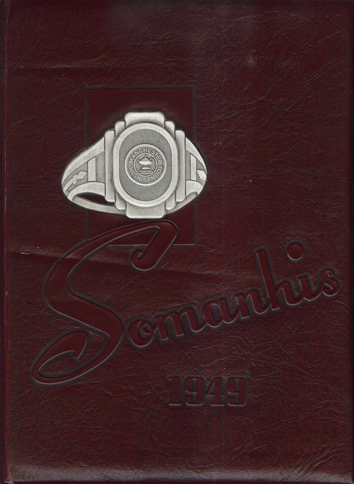 Image for Somanhis 1949 Manchester High School Yearbook Manchester Connecticut