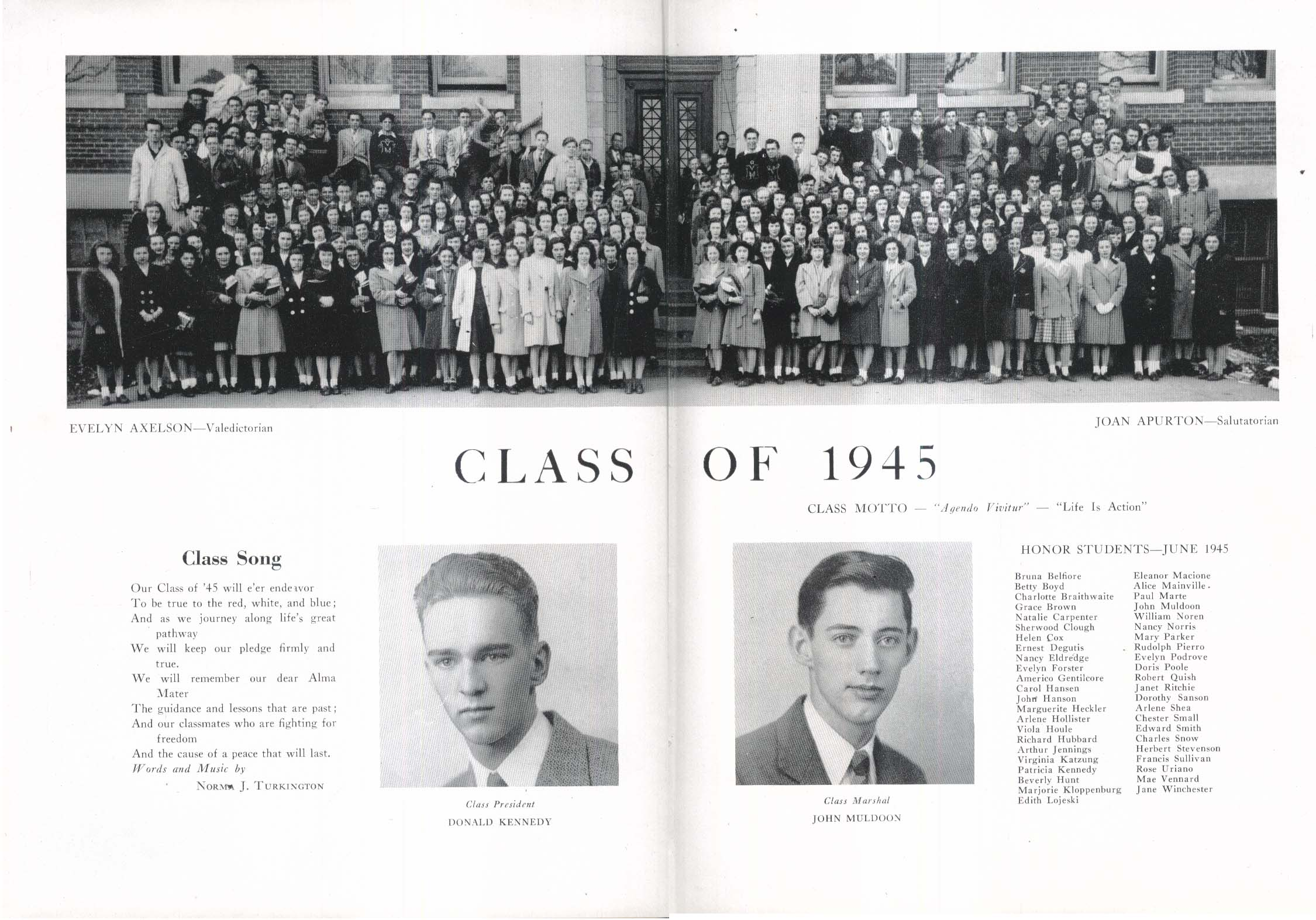 Image for Somanhis 1945 Manchester High School Manchester Connecticut Yearbook