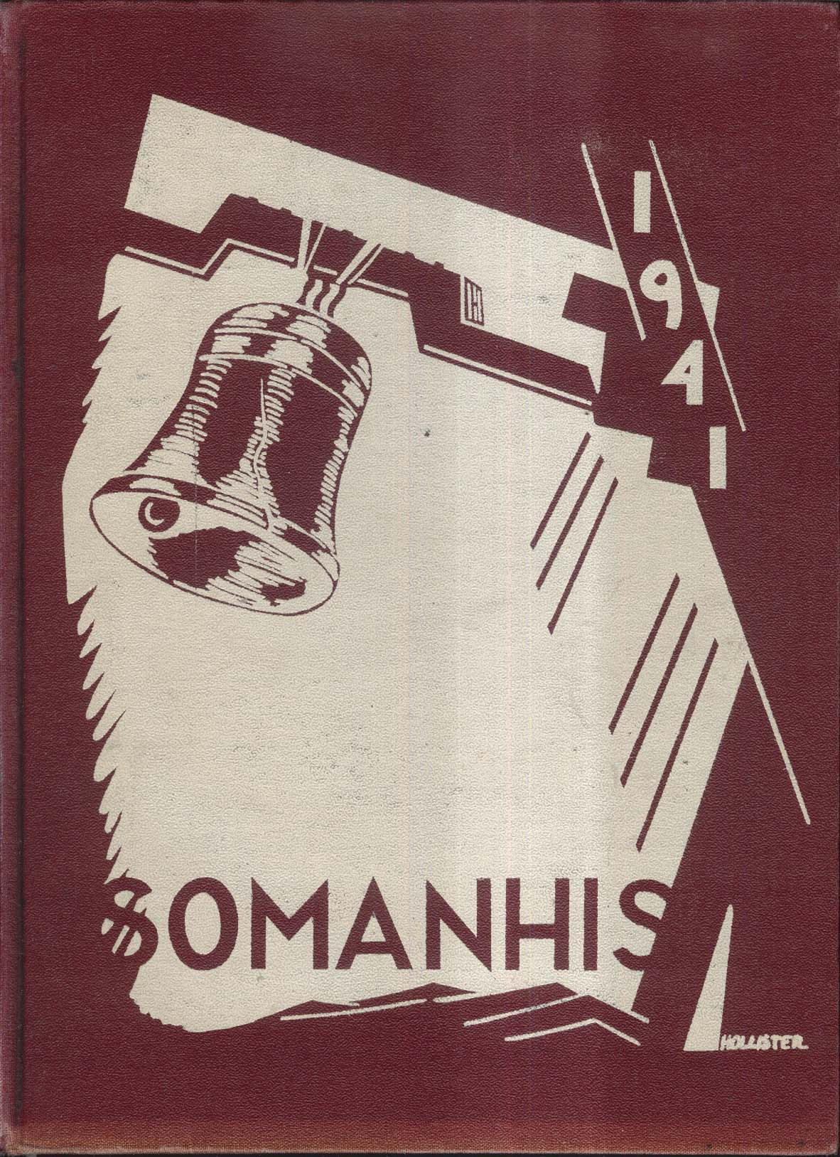 Image for 1941 Somanhis Manchester High School Manchester Connecticut Yearbook