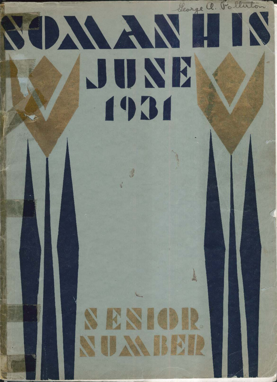 Image for Somanhis 1931 Senior Number South Manchester High School Connecticut Yearbook