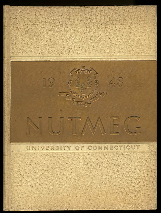 Image for 1948 Nutmeg University of Connecticut CT Yearbook Walt Dropo