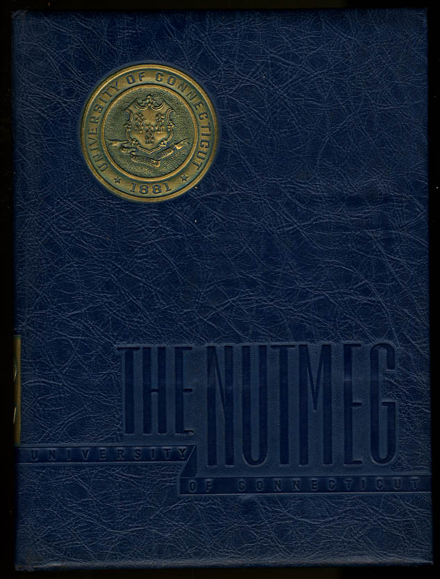 Image for Nutmeg University of Connecticut CT 1947 Yearbook Walt Dropo