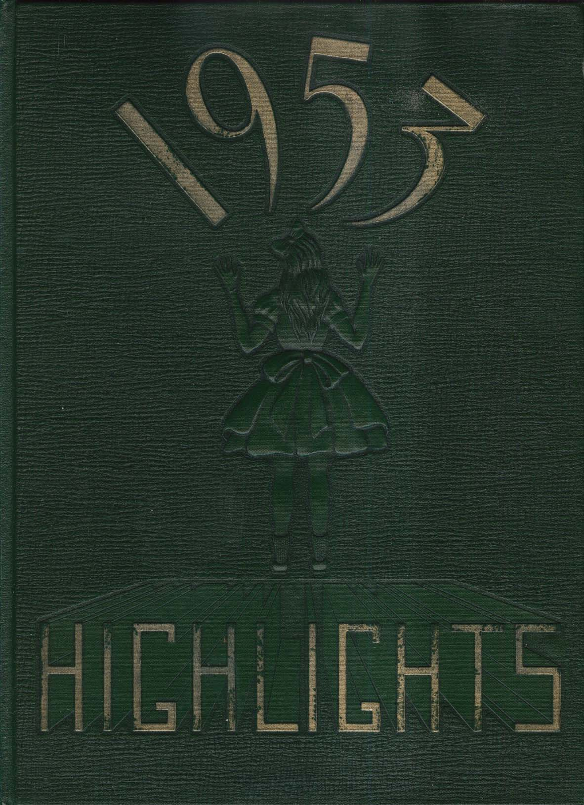 Image for 1953 Highlights Northfield School for Girls Yearbook Massachusetts MA
