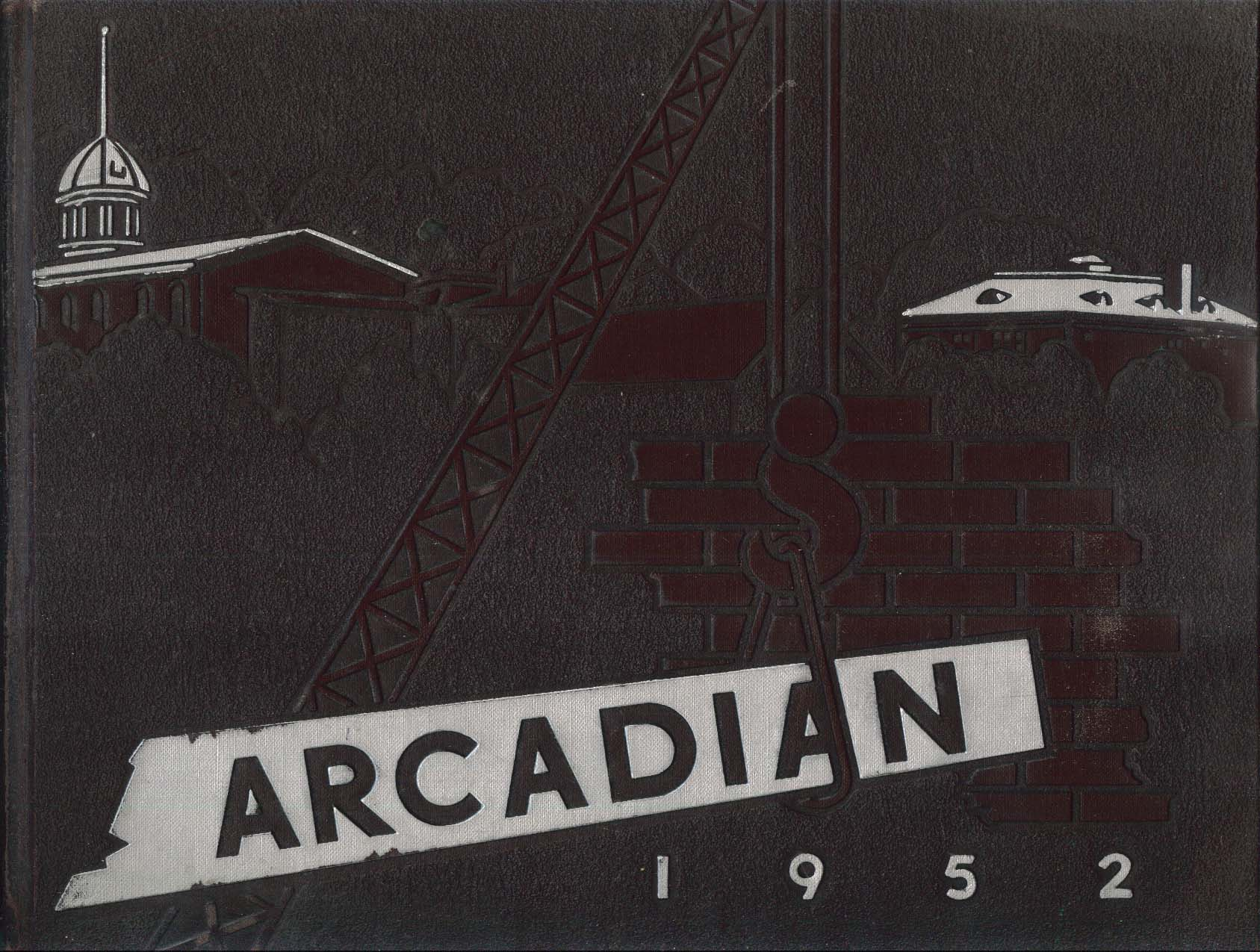 Image for Arcadian 1952 State Agricultural University of New York Morrisville NY Yearbook