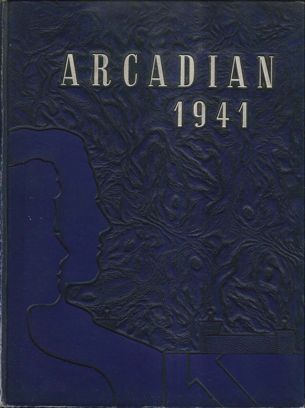 Image for Arcadian 1941 New York State School of Agriculture Morrisville NY Yearbook