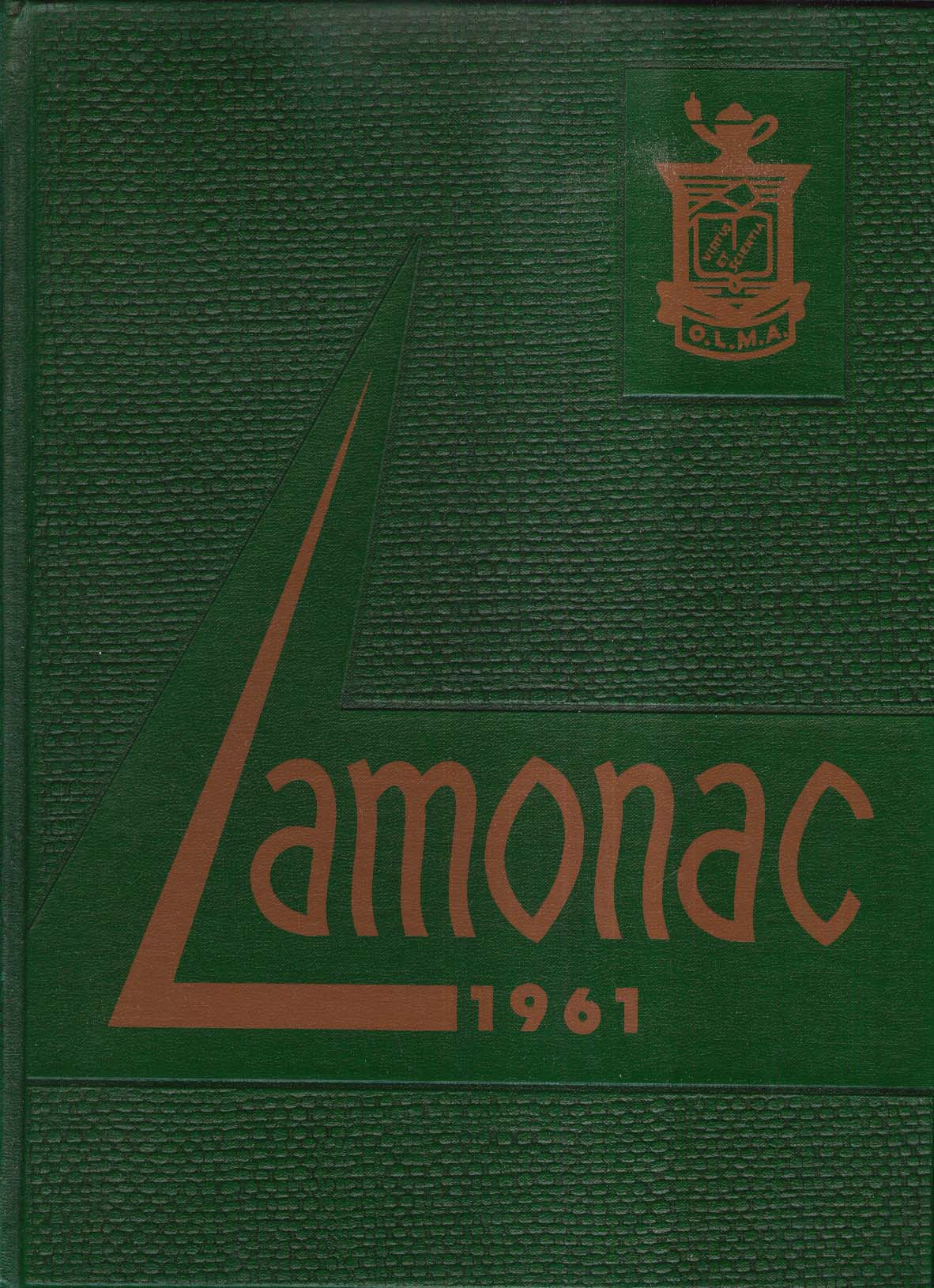 Image for Lamonac 1961 Lady of Monadnock Academy Yearbook Jaffrey New Hampshire NH