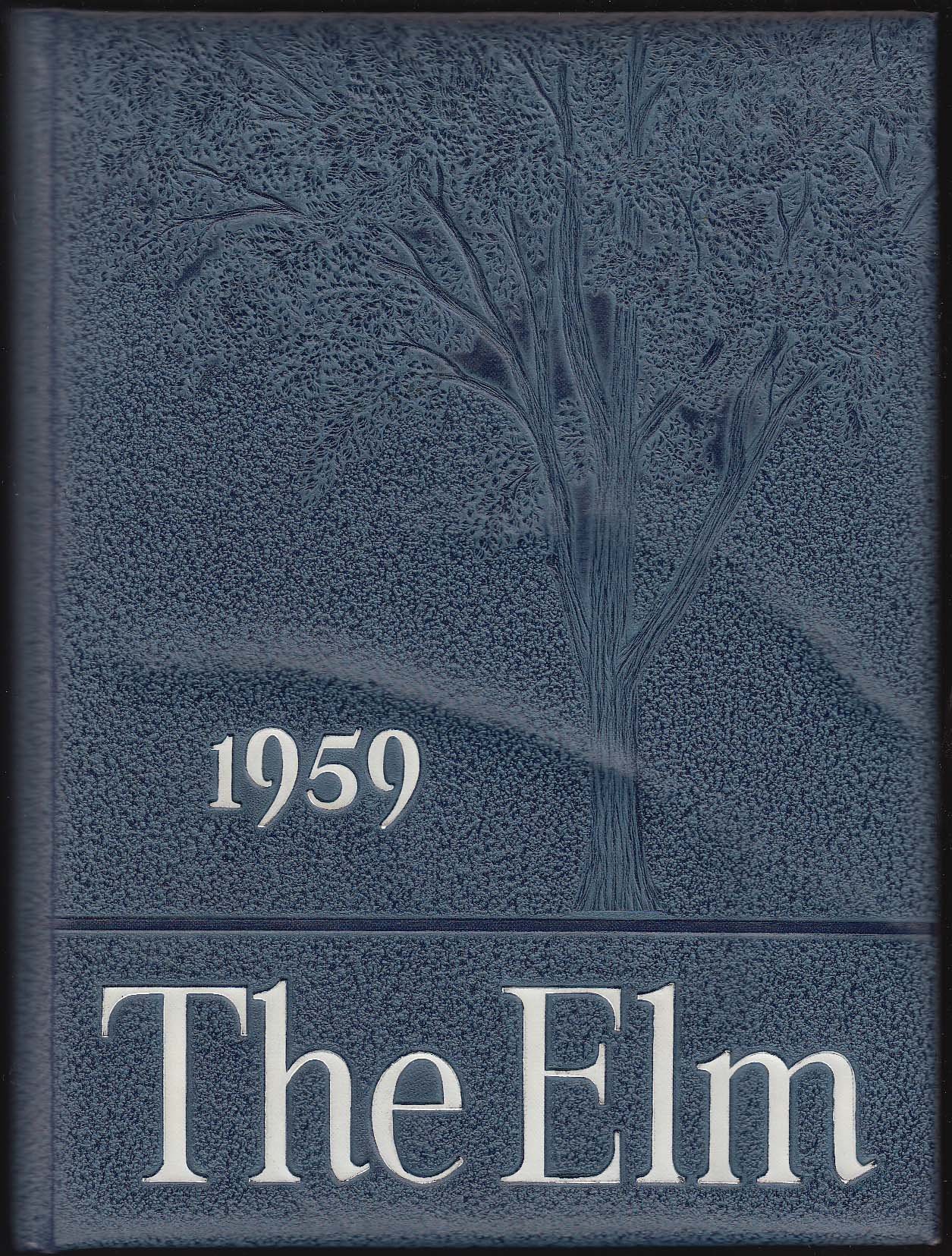 Image for 1959 The Elm Yearbook Wethersfield High School Wethersfield Connecticut CT