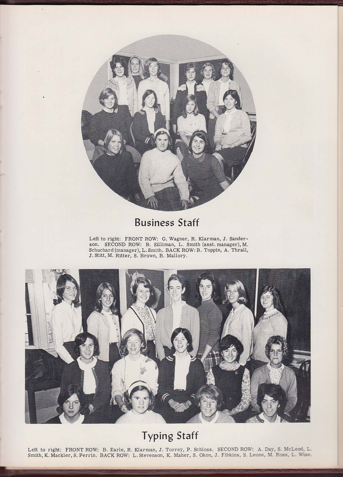 Image for Epilogue 1965 Yearbook Chaffee School Loomis Institute Windsor Connecticut CT