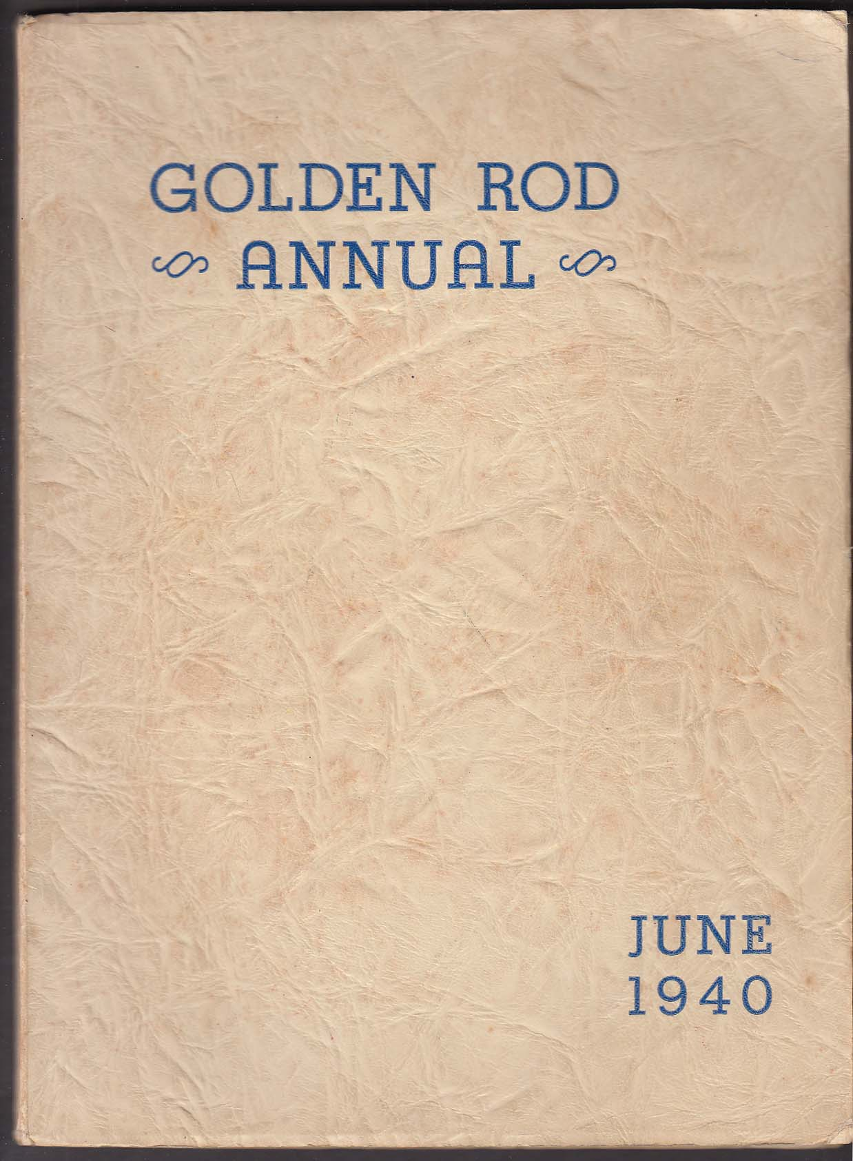 Image for Golden Rod Annual 1940 Yearbook Quincy High School Quincy Massachusetts MA