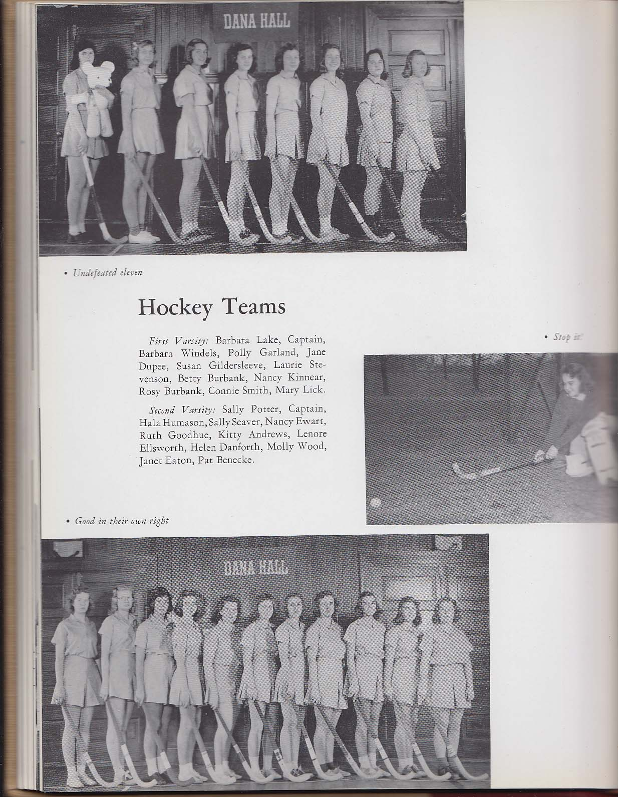 Image for Focus 1942 Yearbook Dana Hall School Wellesley Massachusetts MA