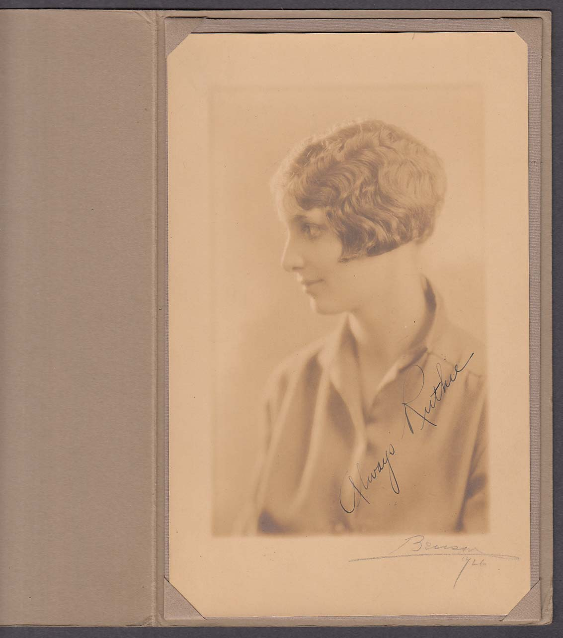 Image for Aftermath 1926 Yearbook North High School Worcester MA + Ruth Lindley portrait
