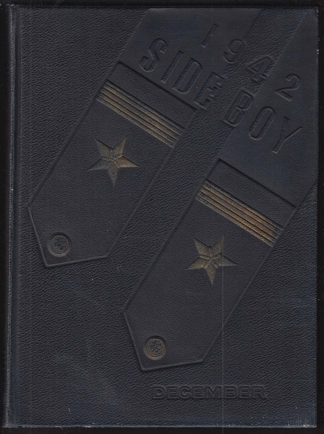 Image for 1942 Side Boy US Naval Reserve Midshipmen's School Yearbook New York NY