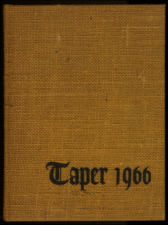Image for Taper 1966 Yearbook American International College Springfield Massachusetts