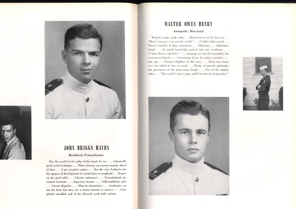 Image for Tide Rips 1947 United States Coast Guard Academy Yearbook John B Hayes