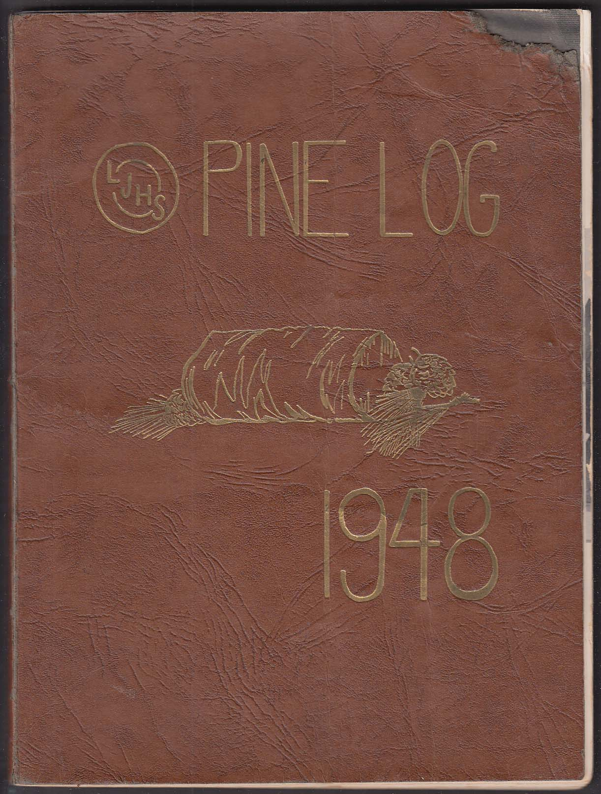 Image for Pine Log 1948 Leland Junior High School Yearbook Chevy Chase MD